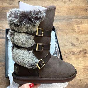 Australia LUXE Collective Nadir Faux Fur Boots 9
